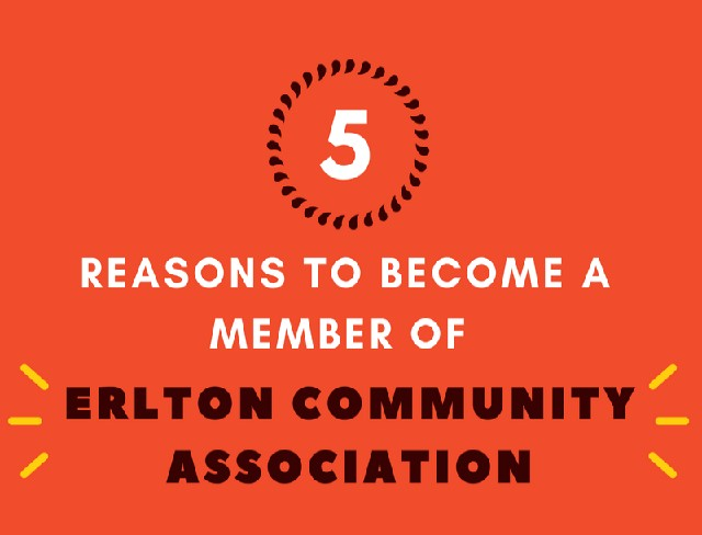 Become an Erlton Community Associaton Member