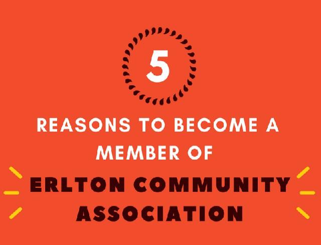 Become an Erlton Community Association Member